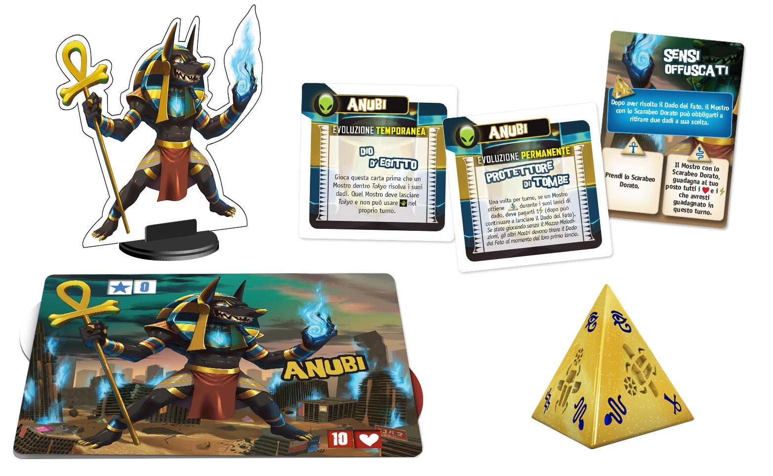 King of Tokyo - Monster Pack : Anubis