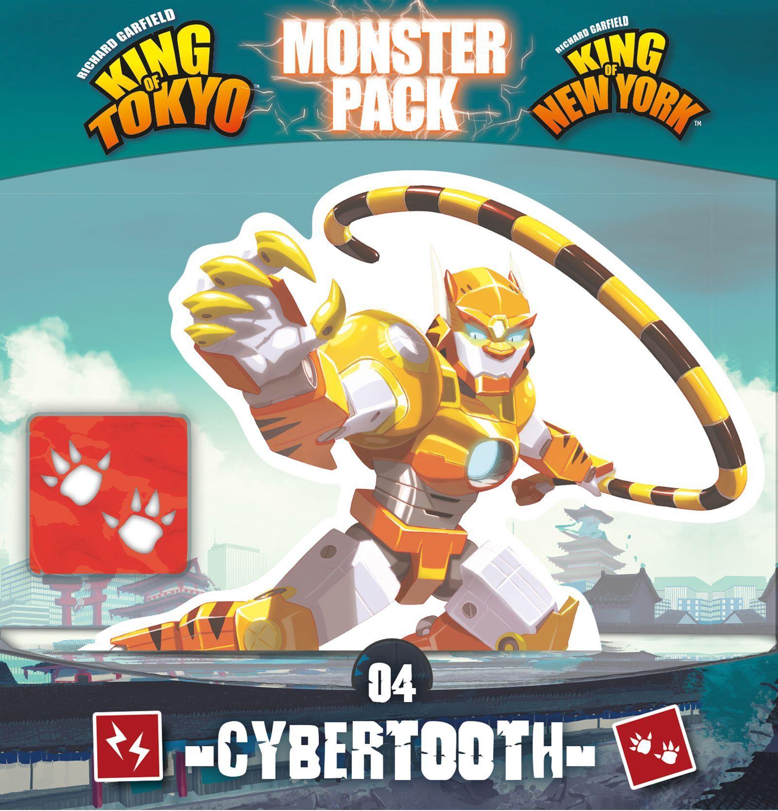 King of Tokyo - Monster Pack : Cybertooth