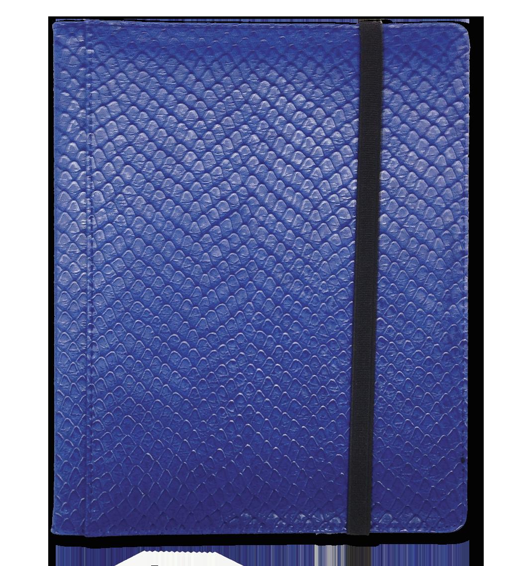 Legion - 8 Pocket Dragonhide Binder - Blue