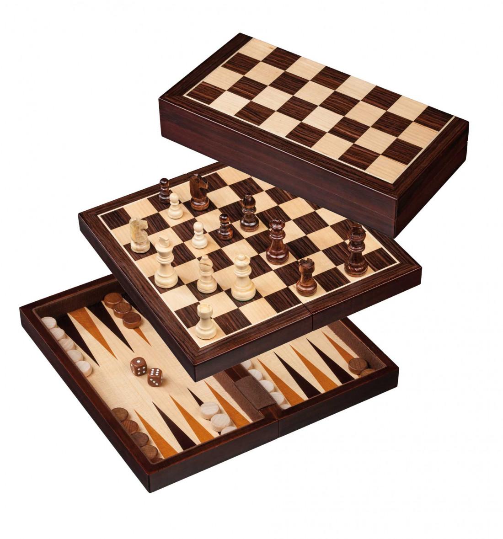 Male-kabe-backgammoni komplekt, 30 mm