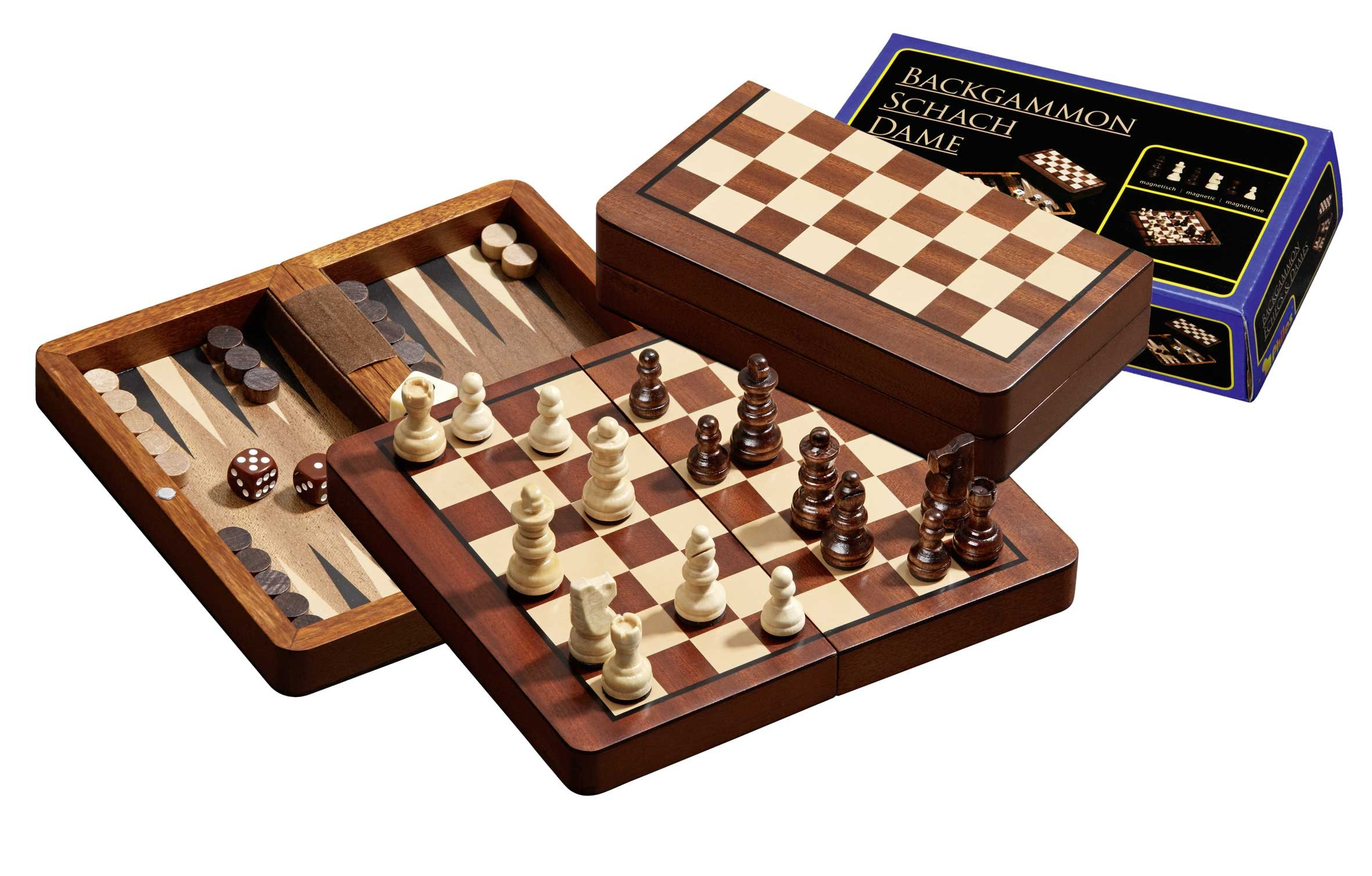 Male-kabe-backgammoni reisikomplekt