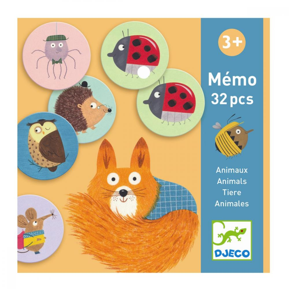 Educational games - Memo Animals