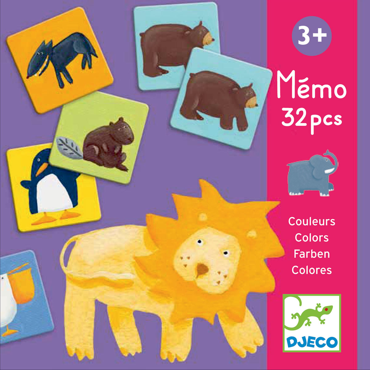 Memo - Colour animals
