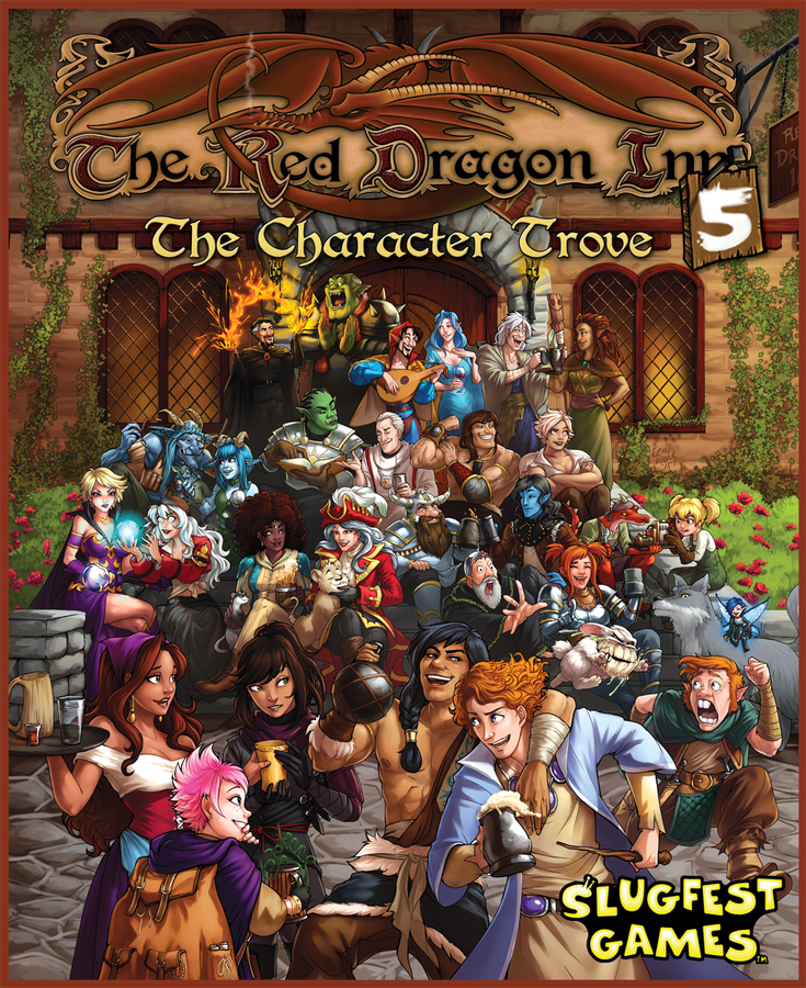 Red Dragon Inn 5: Character Trove