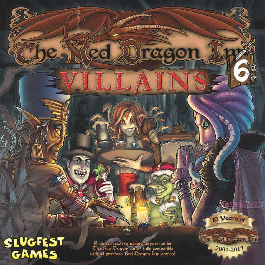 Red Dragon Inn 6 Villains