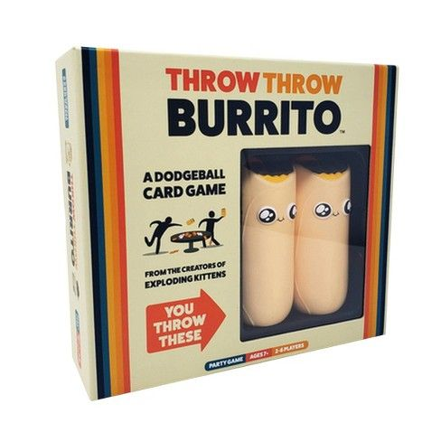 Throw Throw Burrito A Dodgeball Card Gam