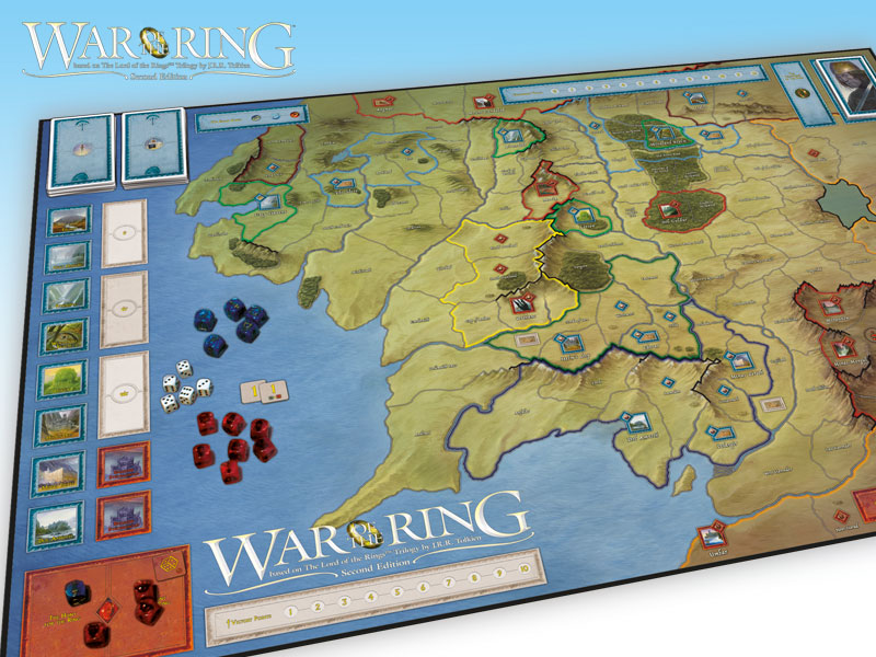 LOTR: War of The Ring 2nd Edition