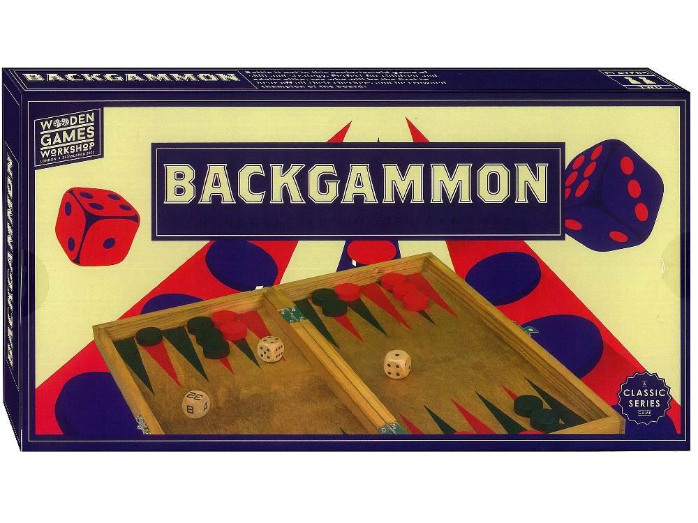 "Wooden Games Workshp ""Backgammon"""