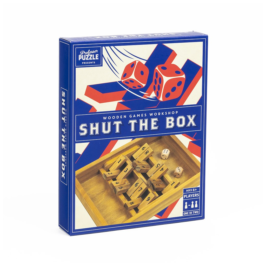 "Wooden Games Workshp ""Shut the Box"""