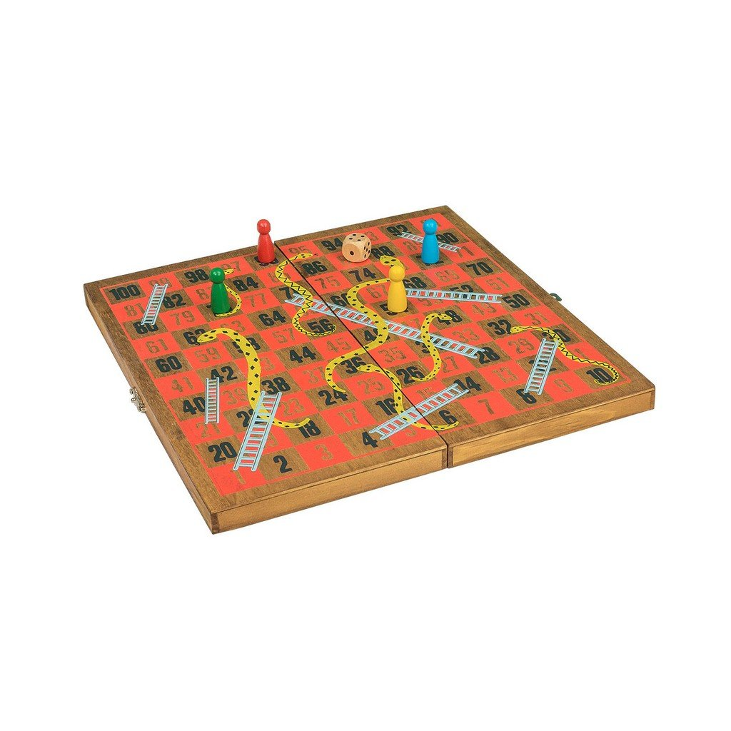 "Wooden Games Workshp ""Snakes & Ladders"""