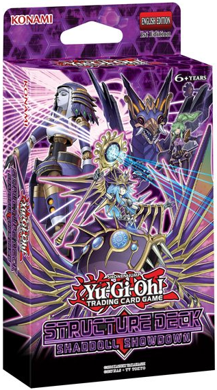 YU-GI-OH Shaddoll Showdown Structure Deck