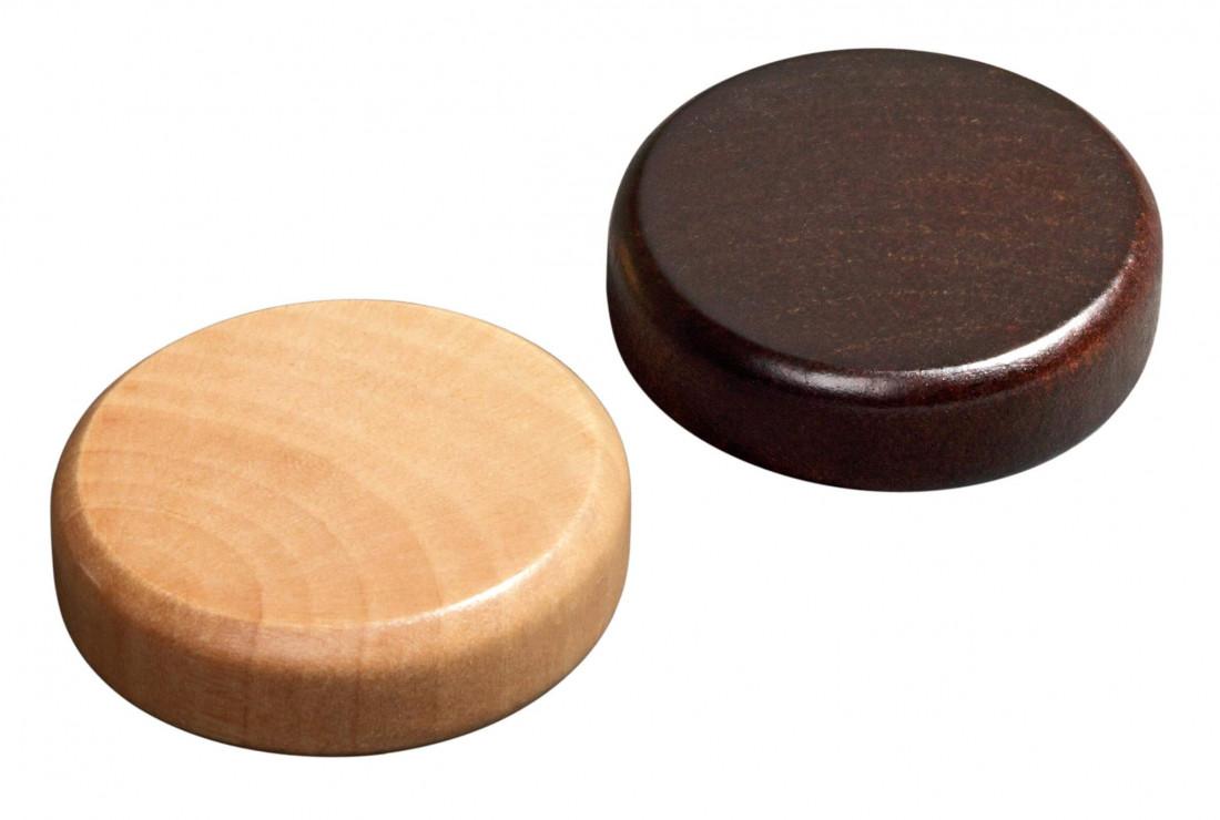 Backgammon stones, mini, 20x8 mm