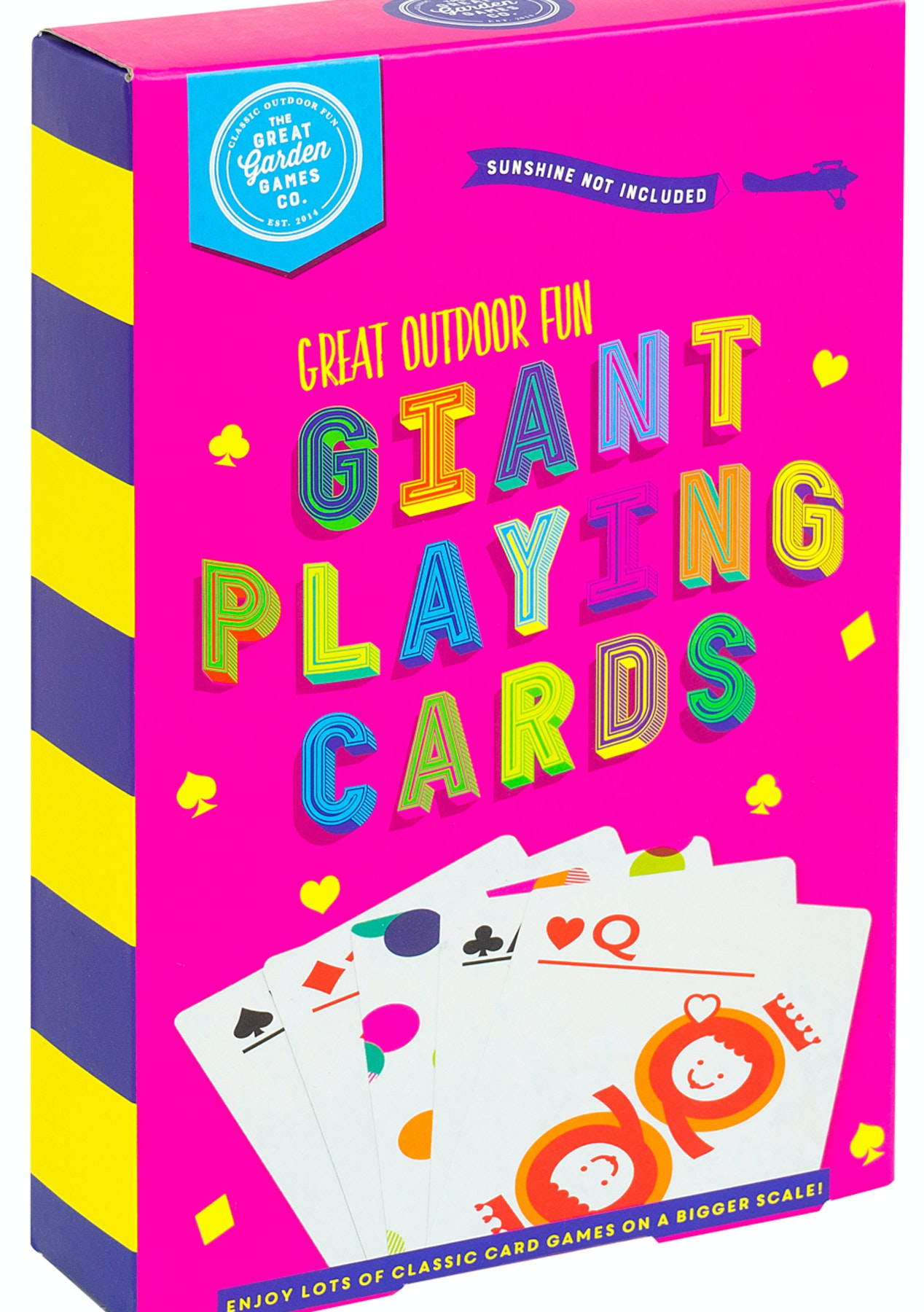Bright Garden Games - A5 Playing Cards