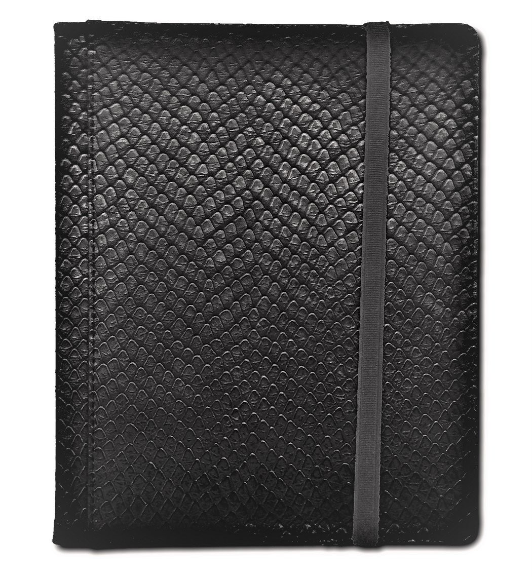 Legion - 8 Pocket Dragonhide Binder - Black