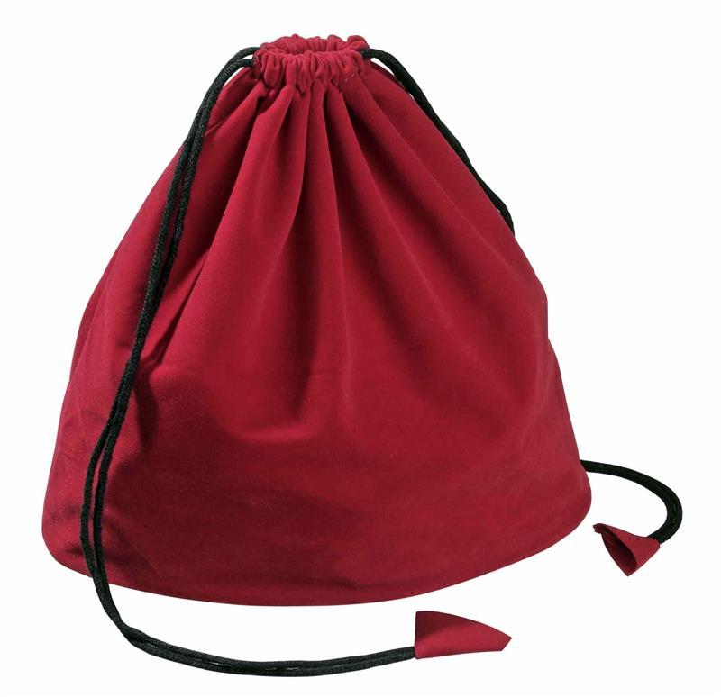 Nööriga kott, punane