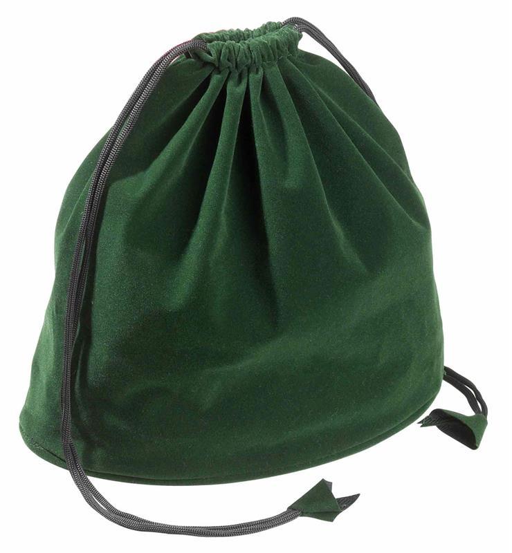 Nööriga kott, roheline