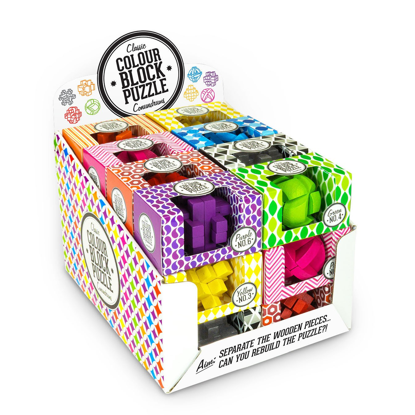Colour Blocks Puzzle