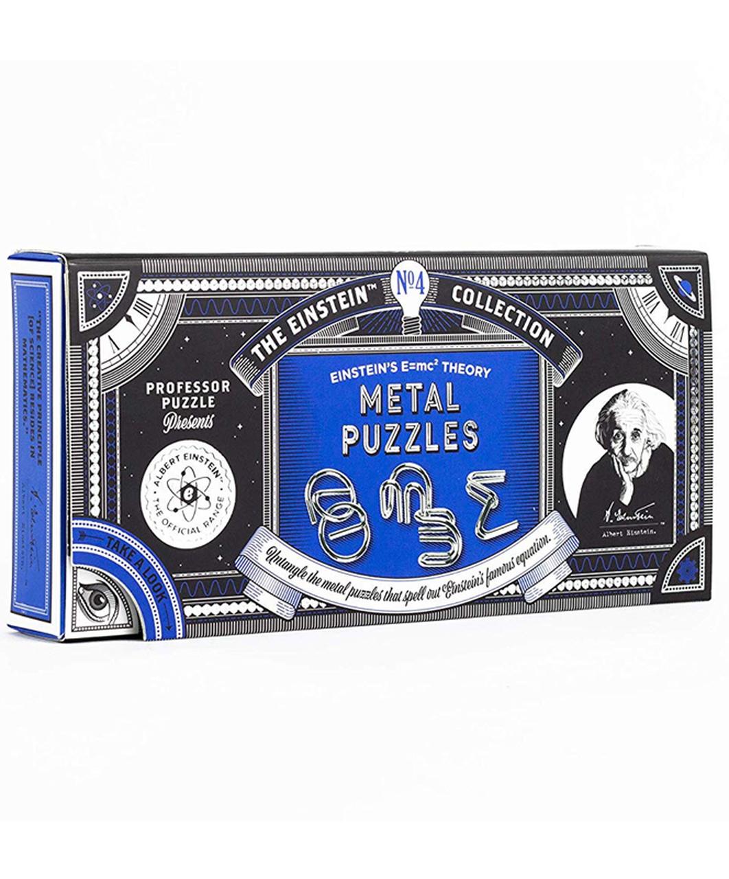 Einstein Collection E=MC2 Metal Puzzles