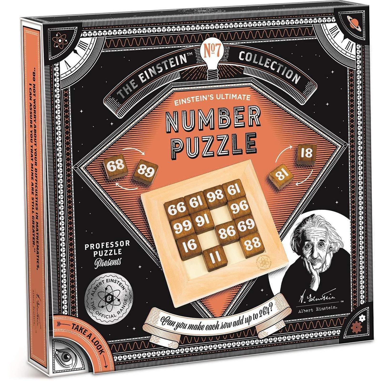 Einstein Collection; Einstein Number Puzzle