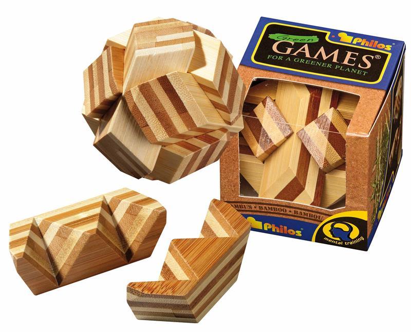 Ball-Puzzle, Bambus