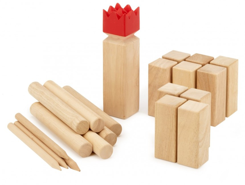 Õuemäng: Kubb Original, Red king