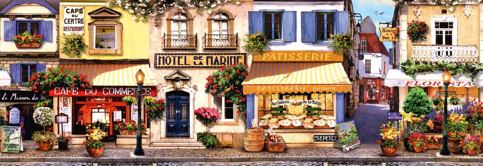 A stroll through ParisPanorama 1000 pcs