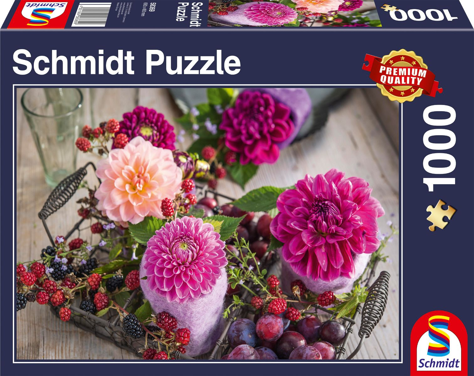 """Pusle """"Berries and Flowers"""" 1000 tk"""