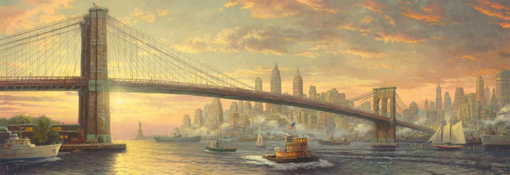 "Pusle ""Brooklyn Bridge, New York"" 1000 tk"