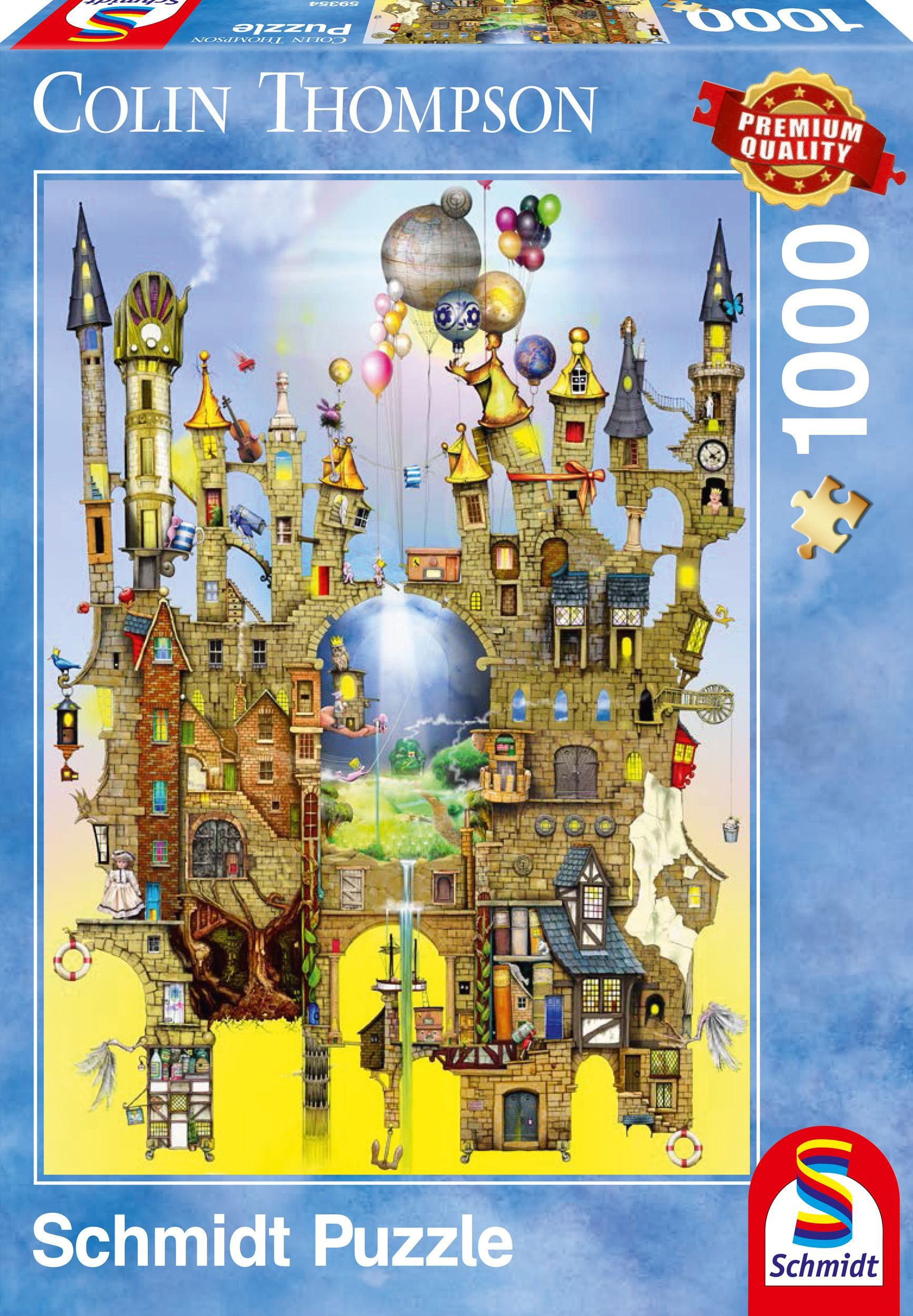 """Pusle """"Castle in the Air"""" 1000 tk"""