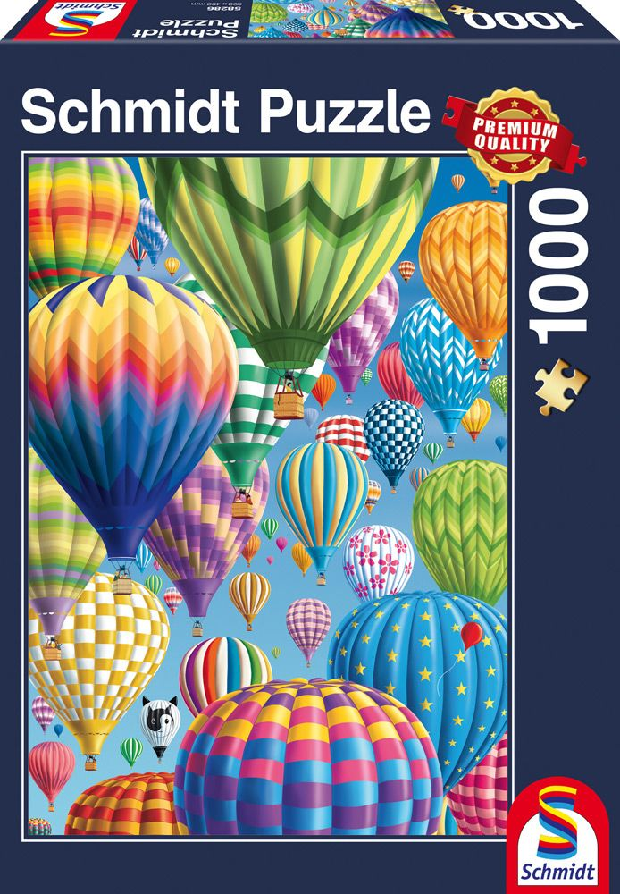 """Pusle """"Colorful Balloons in the Sky"""" 1000 tk"""