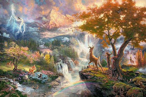 "Pusle ""Disney, Bambi"" 1000 tk"