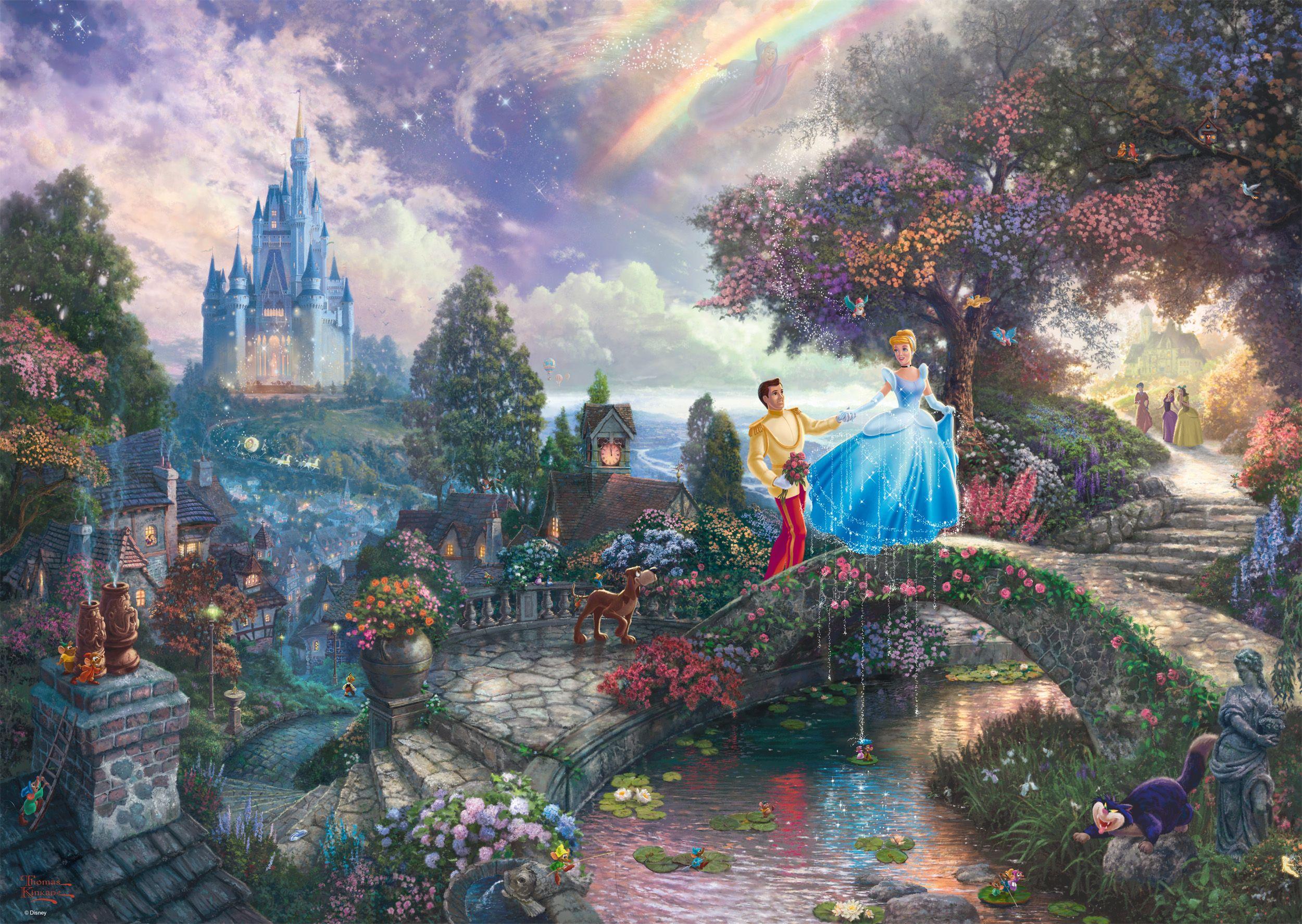 "Pusle ""Disney Cinderella"" 1000 tk"
