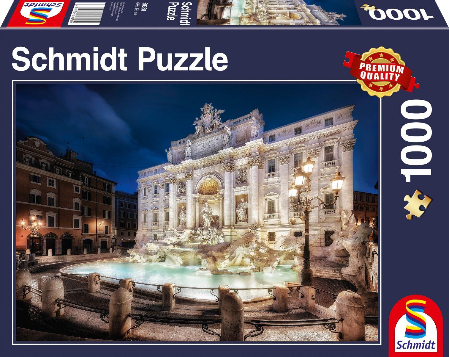 """Pusle """"Trevi Fountain, Rome"""" 1000 tk"""