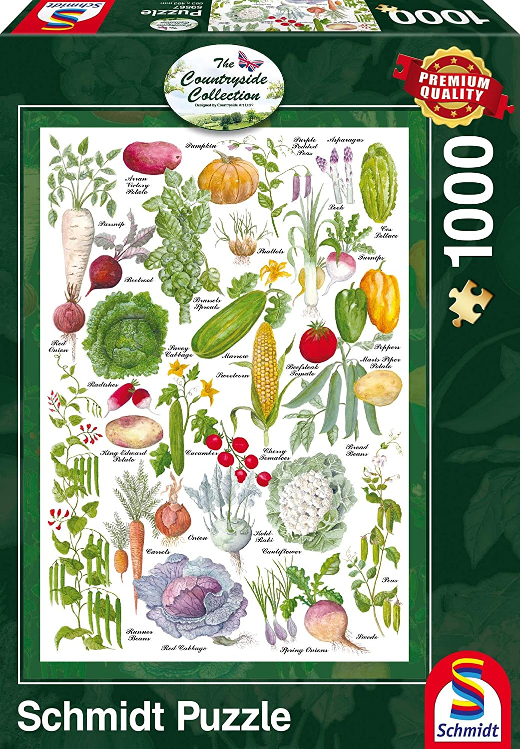 "Pusle ""Vegetable Garden"" 1000 tk"