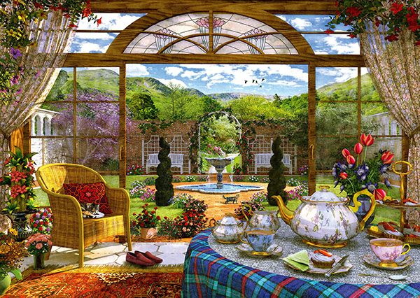 """Pusle """"View from the Conservatory"""" 1000 tk"""