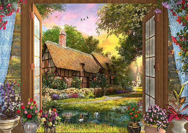 """Pusle """"View of the Cottage"""" 1000 tk"""