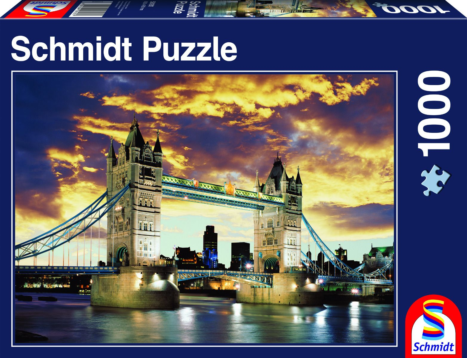 "Pusle "" Tower Bridge London"" 1000 tk"