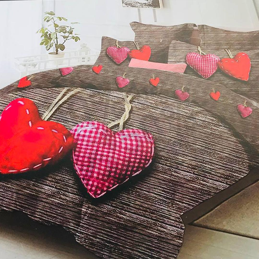 4-osaline voodipesukomplekt 160x200cm