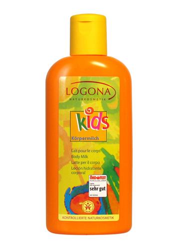 Laste kehaemulsioon Logona, 200 ml