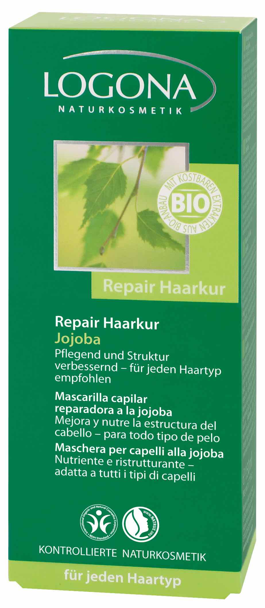 Jojoba juuksemask Logona, 150 ml