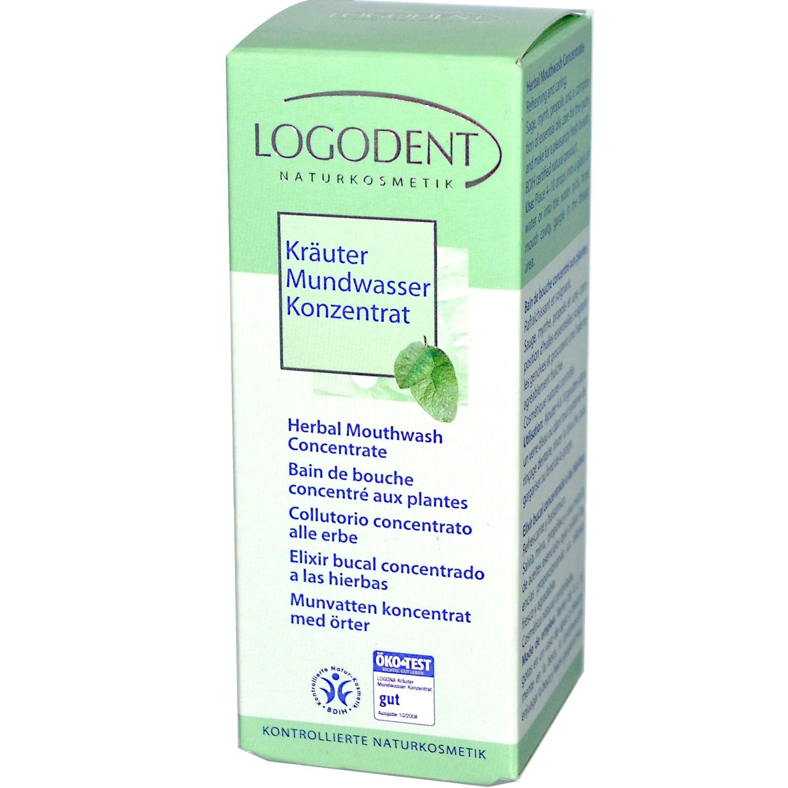 Taimne suuloputusvesi Logona, 50 ml