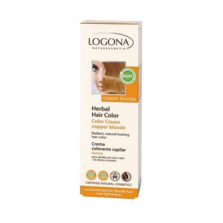 Kreemvärv Indiaani suvi 210 Logona, 150 ml