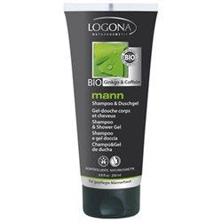 Mann šampoon ja dušigeel Logona, 200 ml