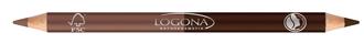 Kahepoolne silmapliiats 01 Coffee Logona, 1 tk