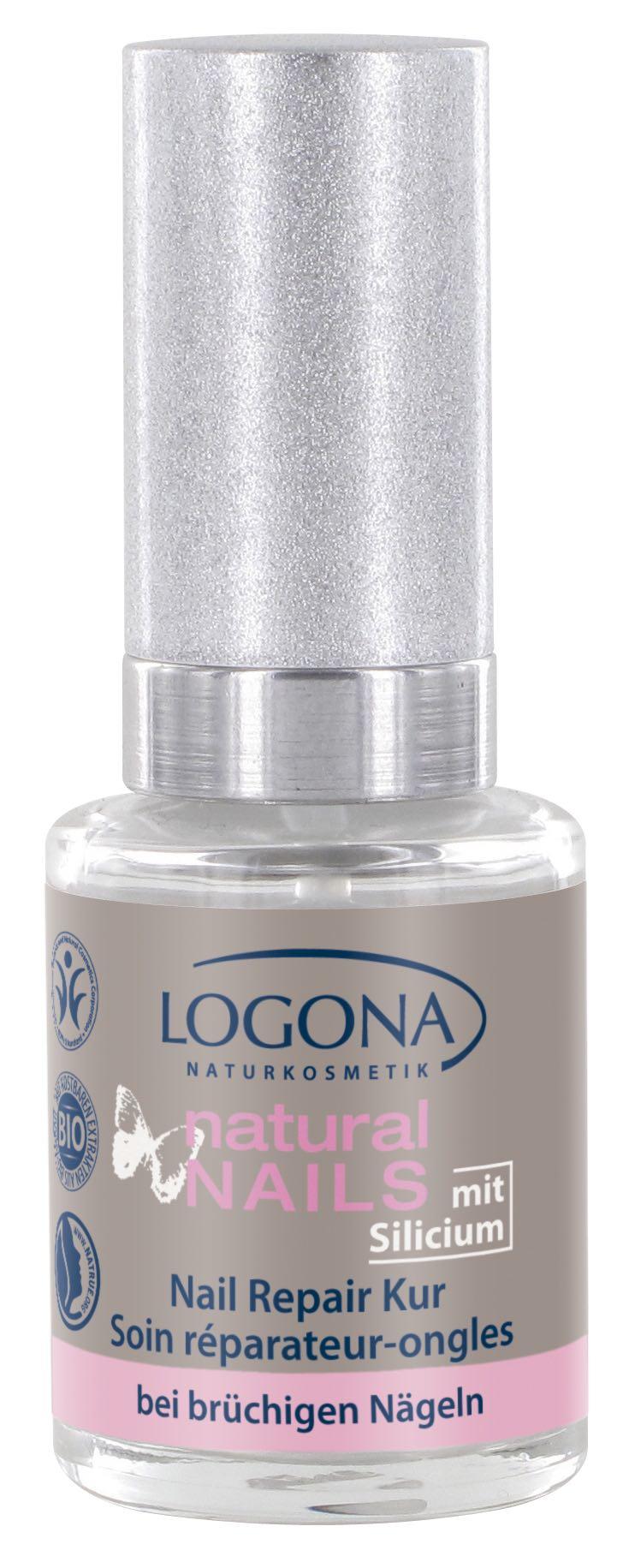 Küüneravi/ hooldus tugevdab ja kaitseb pehmeid küüsi Logona, 10 ml