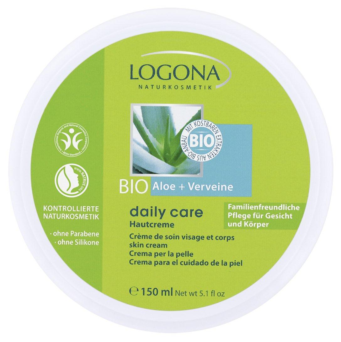 Kehaemulsioon Bio aloe & raudürt Logona, 150 ml