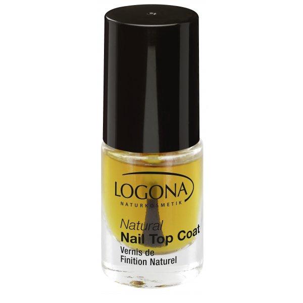 Natural Nail pealislakk Logona, 4 ml