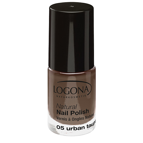 Natural Nail küünelakk 05 urban taupe Logona, 4 ml