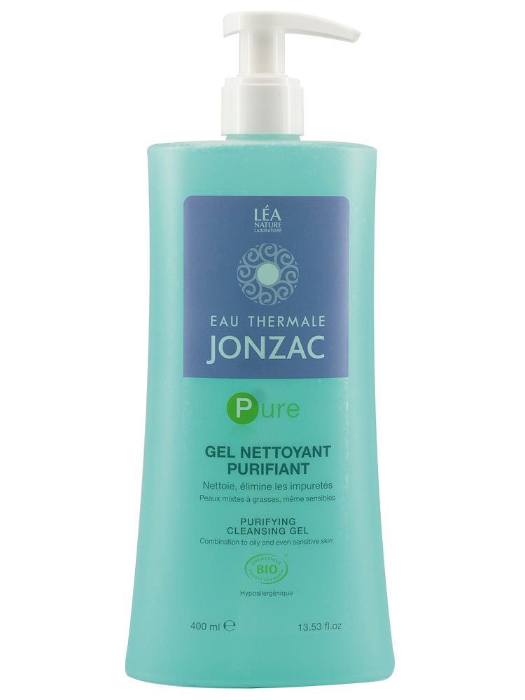 Puhatusgeel näole, kombineeritud ja rasusele nahale Jonzac, 400 ml