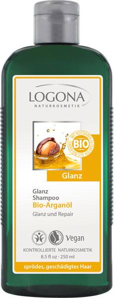 Läikešampoon argaaniaõliga Logona, 250 ml
